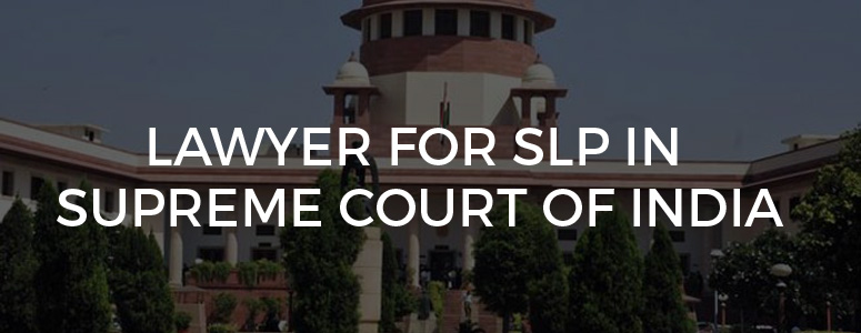 SLP in Supreme Court of India - Legal Helpline India